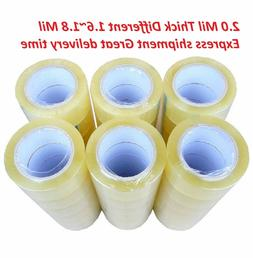 1-6-12-18-24-36-72 Rolls Clear Packing Packaging Carton Seal