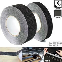 1 Roll PVC Anti Slip Traction  Tape Black Gritty Grip Tape