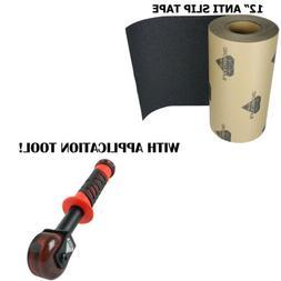 """12"""" 5'-50' Anti Slip Tape Roll Safety Non Skid Grip Safe Gri"""