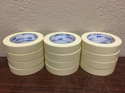 """Masking Tape 1"""" .94"""" x 60 Yds Natural Color Fresh Stock FRE"""