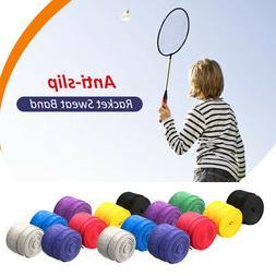 15Pcs Badminton Bat Sweatband Anti-slip Tennis Racket Grips