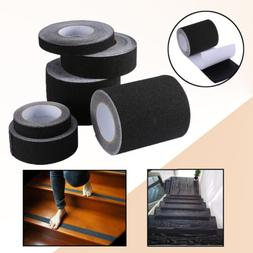 16-60 ft BLACK Roll Safety Non Skid Tape Anti Slip Tape Stic