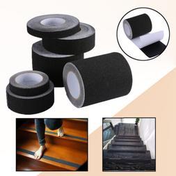 16-60 ft BLACK Roll Safety Non Skid Tape Anti Slip Tape Stic