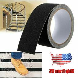 "PVC Anti Slip Traction Gritty Grip Tape 2"" x 196"" Black Tape"