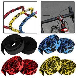 2Pcs/Pair Bicycle Bike Handlebar Wrap Vibration Bar Tape Gri