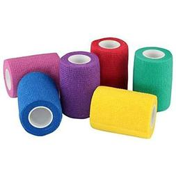 WildCow 3 Inch Vet Tape Wrap Bulk Bandages Colored  Athletic