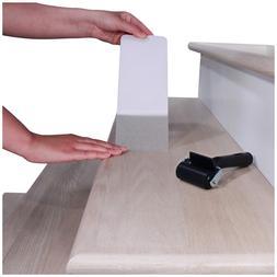 "32""x4"" Non-Slip Stair Treads Tape  – Clear Anti-Slip I"