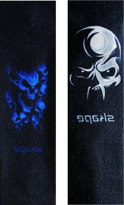 """33""""X9"""" SKAPE Skull Graphic Skateboard Grip Tape"""