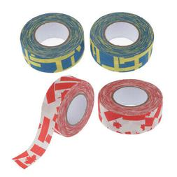 4 Rolls Adhesive Ice Hockey Stick Tape Lacrosse 1''x10yds Gr