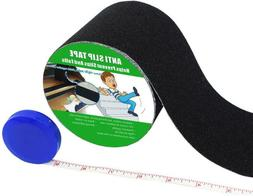 "4"" X 190"" Roll Rubberized Anti Slip Safety Tape Non Skid Sta"