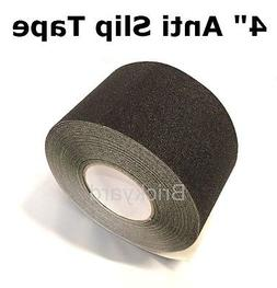 "4"" x 60' BLACK Roll Safety Non Skid Tape Anti Slip Tape Stic"
