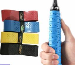 5 Color 2PCS Anti Slip Racket Over Grip Roll Tennis Badminto