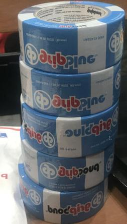 5 Rolls/ Grip Blue Masking Tape/ 1.88x60 yd