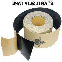 "6"" x 10' BLACK Roll Safety Non Skid Tape Anti Slip Tape Stic"