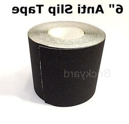 "6"" x 60' BLACK Roll Safety Non Skid Tape Anti Slip Tape Stic"