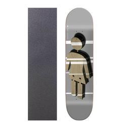 Girl 8.375 x 32 Inch Kennedy Shutter Skateboard Deck With Gr