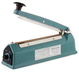 Flexzion 8-Inch/200mm Impulse Sealer with Replacement Elemen