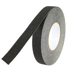 1 Piece Anti-Slip Safety Grip Grit Tape - Black Adhesive Non