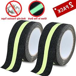 DEALIKEE Anti Slip Traction Tape, None Skid Glow in The Dark