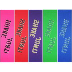 "Shake Junt Assorted Colored Skateboard Grip Tape 9"" x 33"""
