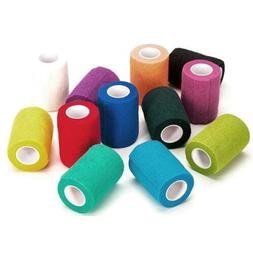 ATHLETIC SPORTS TAPE Stretch Power Wrap Self Stick Adhering