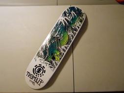 Element Bam Margera Water Dragon Skateboard Deck W/ Grip Tap
