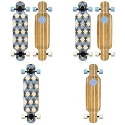 Sola Bamboo Premium Graphic Design Complete Longboard Skateb