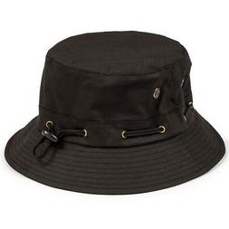 Grizzly Griptape GRIZZLY BEAR TRAP BUCKET HAT BLACK