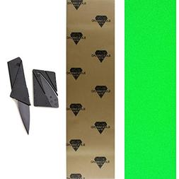 TGM Skateboards Black Diamond 10x48 Neon Green Longboard Ska