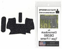 Black Tractiongrips grip tape for Diamondback DB380 Type 1 f