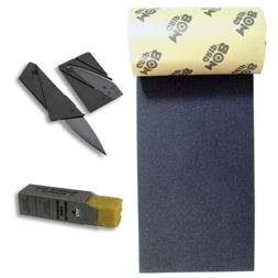 MOB Black Griptape + Griptape Knife + Grip Cleaner