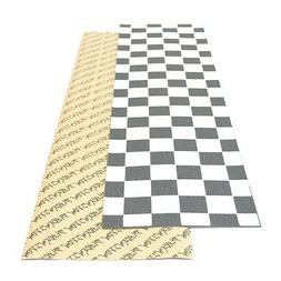 "Black Widow 9"" x 33"" Checkered Skateboard Griptape/Grip Tape"