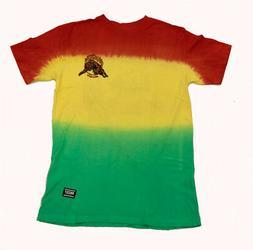 Grizzly Griptape Blazing Trails Rasta T-Shirt
