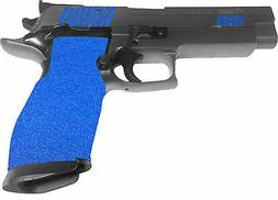 BLUE GUN GRIP TAPE, non slip,HANDGUN PISTOL TARGET SHOOTING