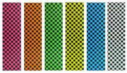 "Cal 7 Checker Skateboard Deck Grip Tape Multiple 33"" x 9"""