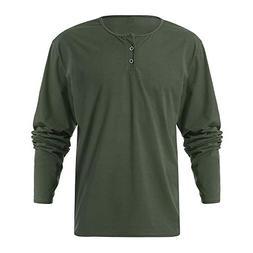 Chaofanjiancai Mens Casual Blouse Design Buttons Slim Fit Sh