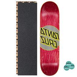 classic dot dipper rose skateboard