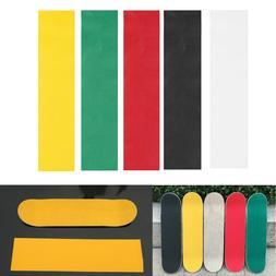 Colorful Skateboard Deck Sandpaper Grip Tape Griptape Skatin