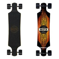 Longboard Complete Skateboard Cruiser Deck Downhill All Terr