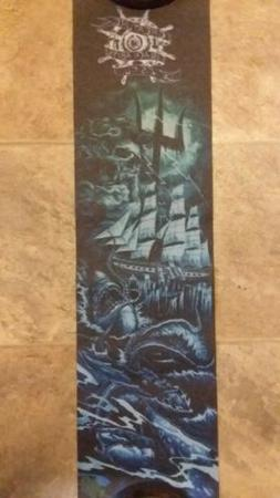 Creature Mob Black Abyss C.S.F.U Grip Tape for Skateboard