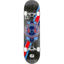 Alien Workshop Crest Foil Black Stain Complete Skateboard -