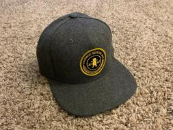 Grizzly Griptape Crest Snapback - Gray - One Size - Adjustab
