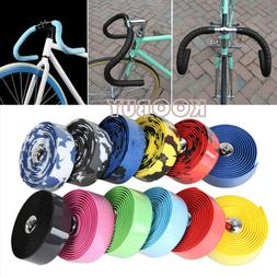 US Cycling Bicycle Road Bike Cork Handlebar Bar Grip Wrap Ta