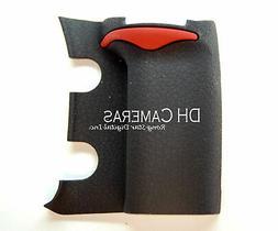 Nikon D300S D300 Front Main Grip Rubber Cap Cover Replacemen