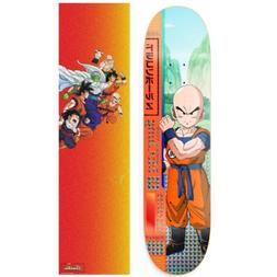Primitive Dragon Ball Z McClung Krillin Skateboard Deck 8.0""