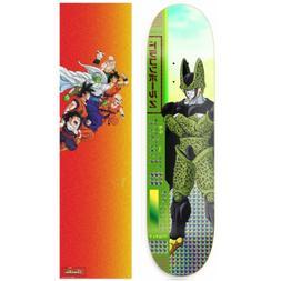 "Primitive Dragon Ball Z Tucker Cell Skateboard Deck 8.25"" w"