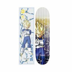 "Primitive Dragon Ball Z Vegeta Super Saiyan 8.5"" Deck and Gr"