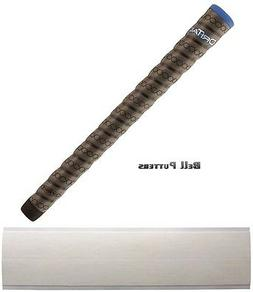 Winn Dri-Tac Wrap Midsize Dark Gray/Blue Cap Golf Grip-Men/M