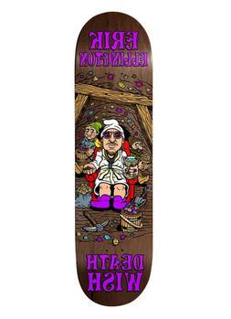 Deathwish EL Happy Place 8.125 Skateboard Deck w/ Free Grip