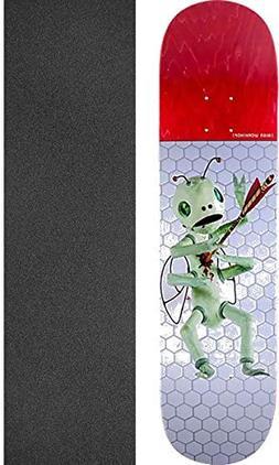Alien Workshop Frankie Spears Bugout White/Red Skateboard De